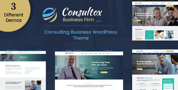 test Consultox - Consulting Business WordPress Theme