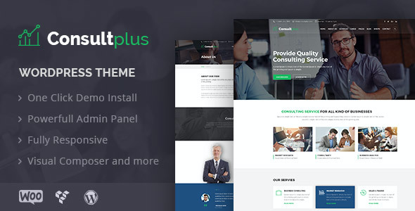 test Consultplus : Business Consulting WP Theme