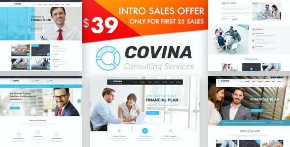 test Covina - Business Consulting and Professional Services WordPress Theme