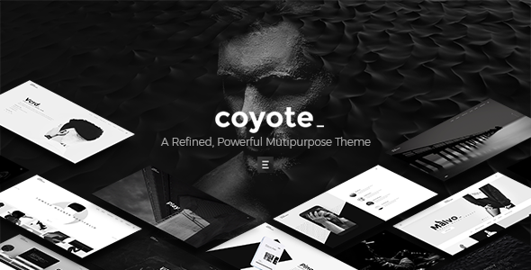 test Coyote - A Refined, Powerful Multipurpose Theme