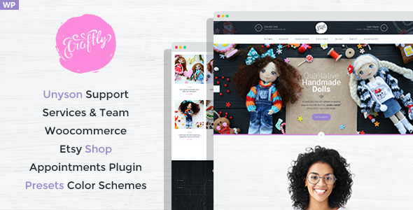 test Craftly - Hobby and Crafts WordPress Theme