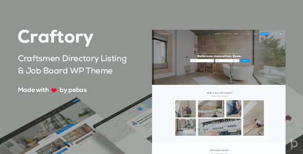 test Craftory - Directory Listing Job Board WordPress Theme