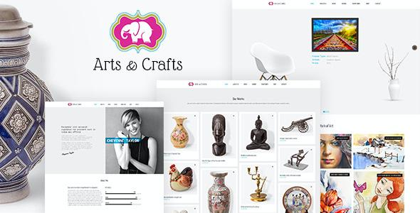 Test du thème WordPress Crafts , découvrez notre avis