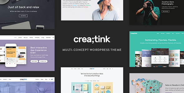 test Creatink - Multi-Concept Responsive WordPress Theme