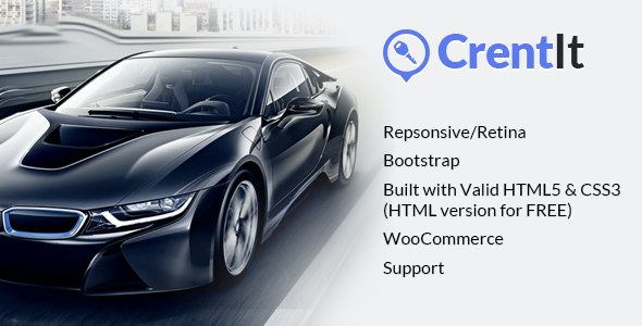 test CrentIt - Car Rental WordPress Theme