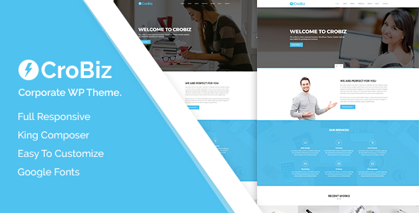 test Crobiz - Corporate WordPress Theme