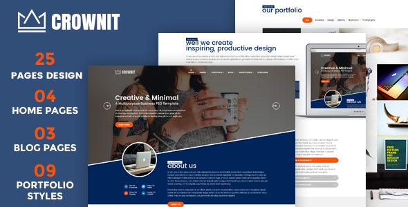 test CrownIT - Responsive Multi-Purpose WordPress Theme