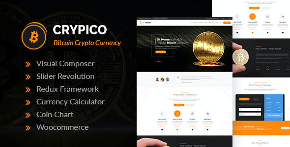 test Crypico - Crypto Currency WordPress Theme