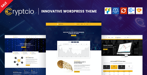 test Cryptcio - Innovative WordPress Theme