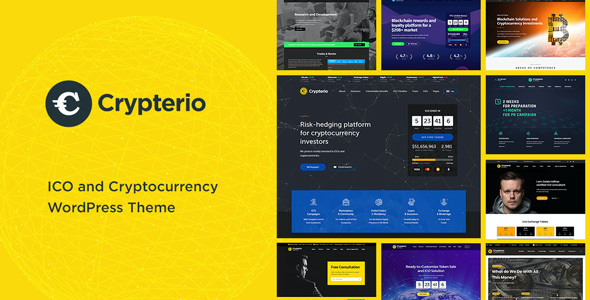 test Crypterio - ICO and Cryptocurrency WordPress Theme