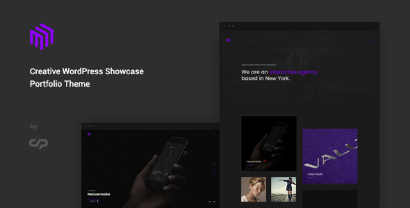 test Cubez - Creative WordPress Showcase Portfolio Theme