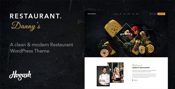 Test du thème WordPress Dannys Restaurant , découvrez notre avis