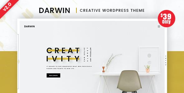 Test du thème WordPress Darwin , découvrez notre avis
