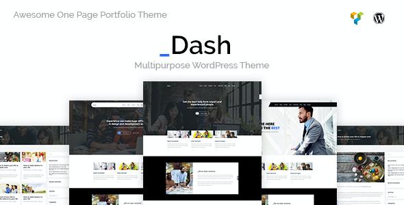 Test du thème WordPress Dash , voici notre avis