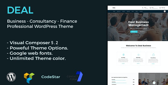 test Deal | Consulting & Business WordPress Theme