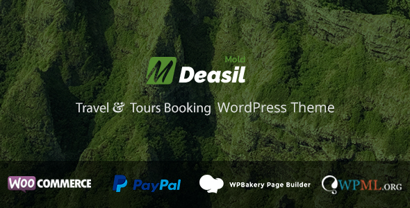 test Deasil - Travel and Tour Booking WordPress Theme