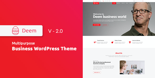 test Deem - Multipurpose Business WordPress Theme