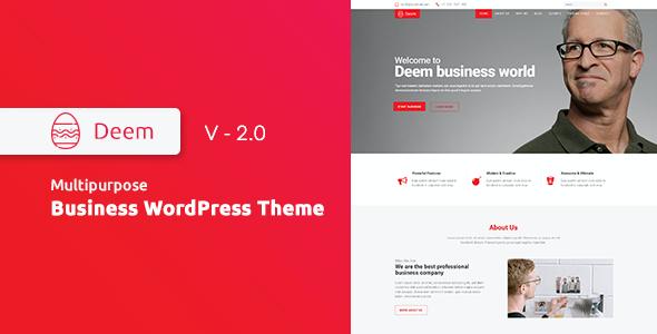 Test du thème WordPress Deem , découvrez notre avis