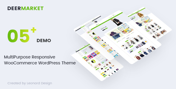 test DeerMarket - Multipurpose Responsive WooCommerce WordPress Theme