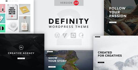 Test du thème WordPress Definity , voici notre avis