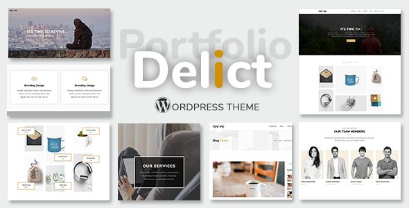 test Delict - Minimal Agency & Portfolio Multipurpose WordPress Theme