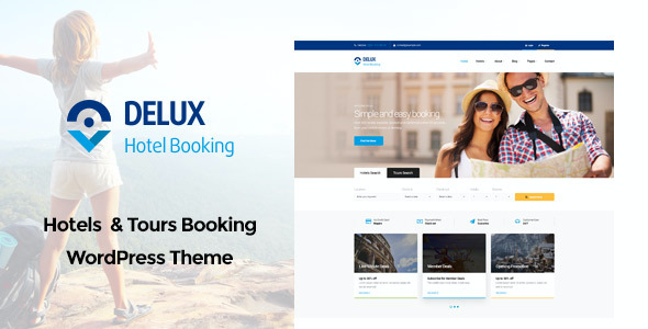test Delux - Online Hotel Booking WordPress Theme