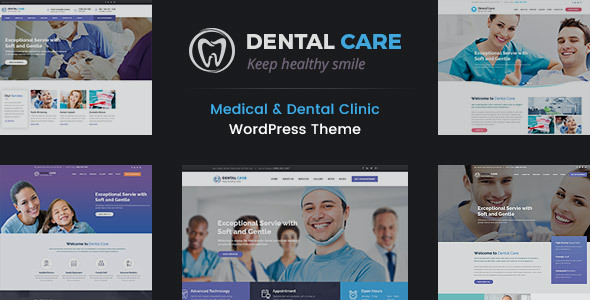 test Dental Care - Medical and Teeth Clinic WordPress Theme