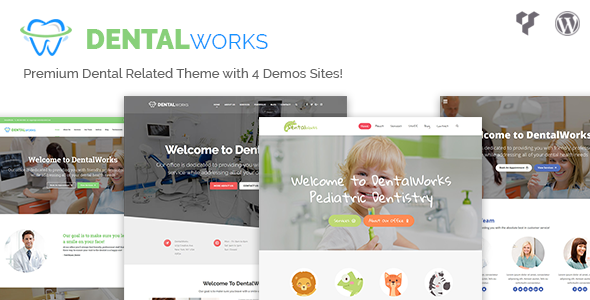test DentalWorks - Dental Related WordPress Theme