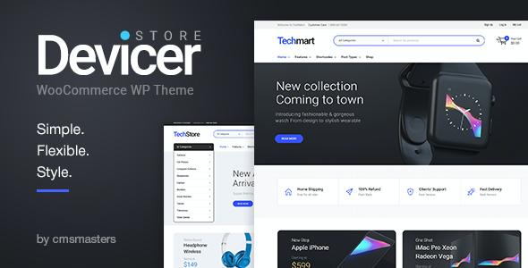 Test du thème WordPress Devicer , découvrez notre avis