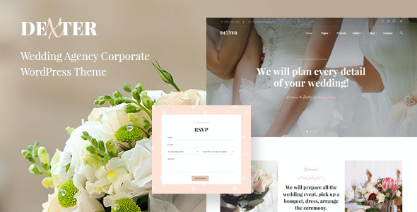 test Dexter - Wedding Agency Corporate Theme