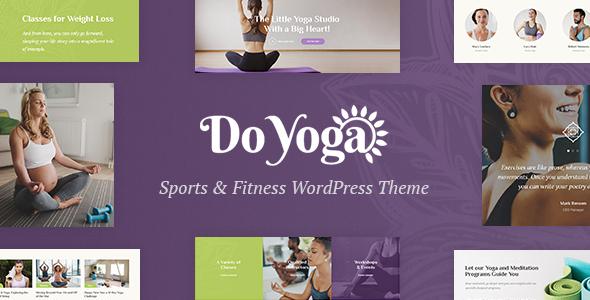 Test du thème WordPress Do Yoga , découvrez notre avis