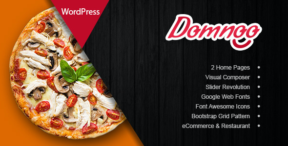test Domnoo - Pizza & Restaurant WordPress Theme