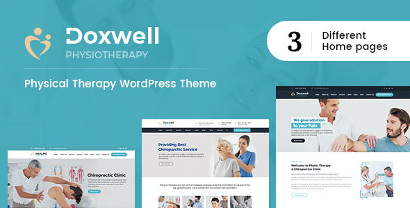 test Doxwell : Physical Therapy WordPress Theme