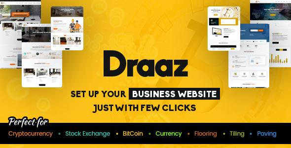 Test du thème WordPress Draaz , découvrez notre avis