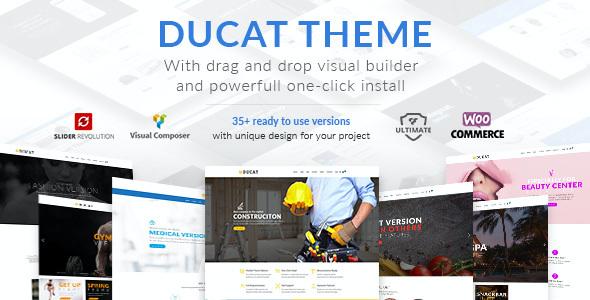 Test du thème WordPress Ducat , voici notre avis