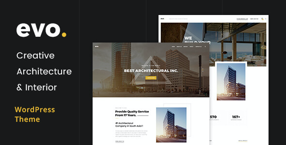 test EVO - Creative Architecture & Interior WordPress Theme