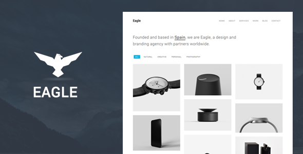test Eagle - Responsive Minimal WordPress Theme
