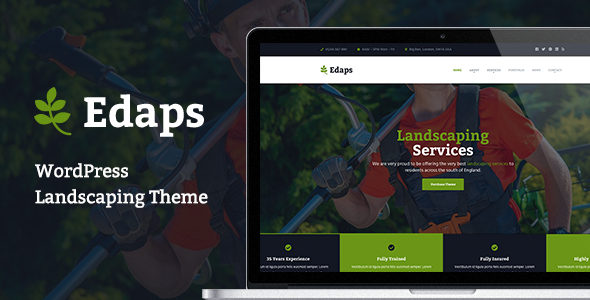 test Edaps - WordPress Landscaping Theme