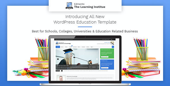 test Edmento - Education WordPress Theme