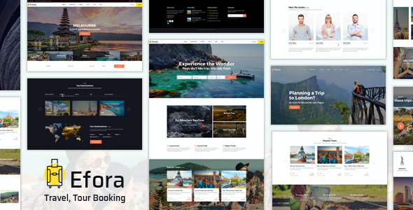 Test du thème WordPress Efora , voici notre avis