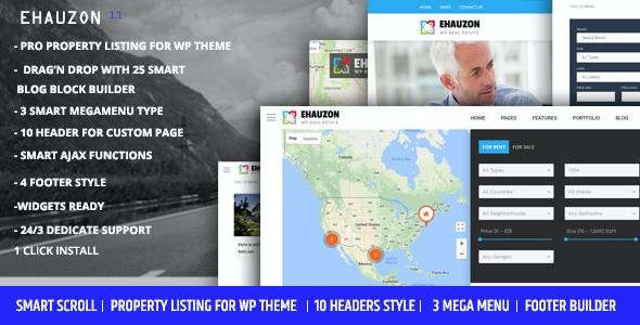 Test du thème WordPress Ehauzon , découvrez notre avis
