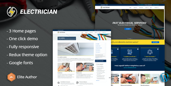test Electrician - Repairing WordPress Theme