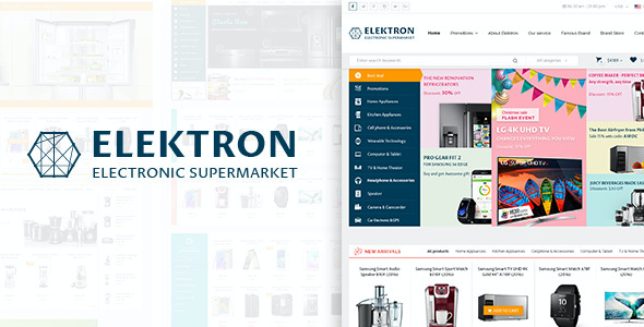 Test du thème WordPress Elektron , découvrez notre avis