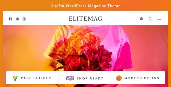 Test du thème WordPress Elitemag , voici notre avis