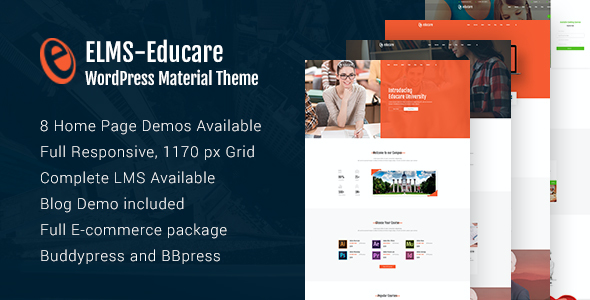 test Elms - Educational Material WordPress Theme