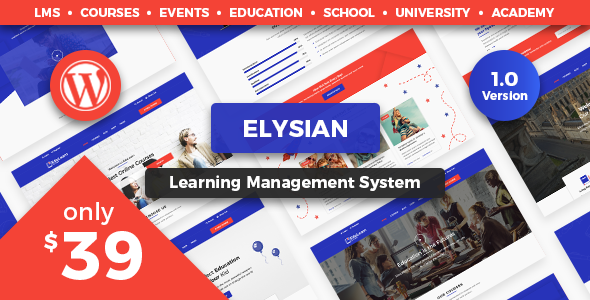 test Elysian - WordPress School Theme