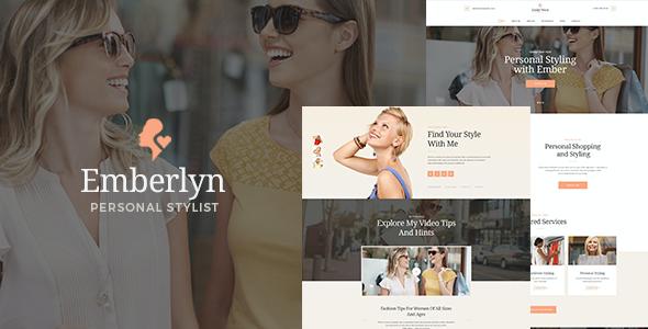 Test du thème WordPress Emberlyn , découvrez notre avis