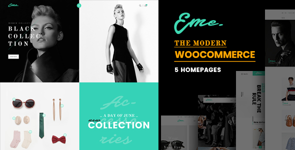 test Eme - WooCommerce WordPress Theme