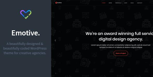 Test du thème WordPress Emotive , découvrez notre avis