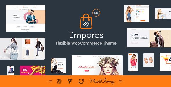 Test du thème WordPress Emporos , voici notre avis